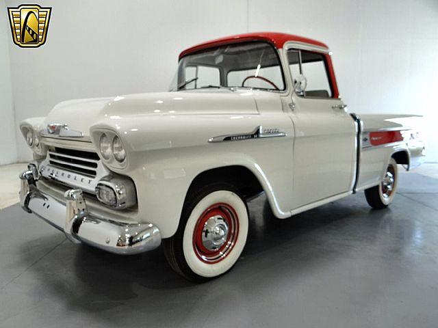 1958 apache cameo for sale autos post. Black Bedroom Furniture Sets. Home Design Ideas