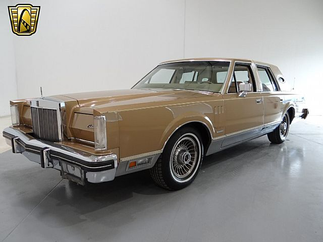 1982 lincoln continental mark vi for sale tinley park illinois. Black Bedroom Furniture Sets. Home Design Ideas
