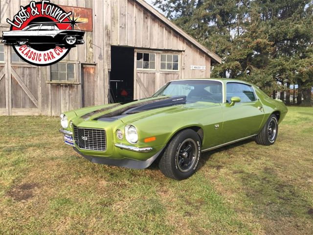 1970 chevrolet camaro for sale mount vernon washington. Black Bedroom Furniture Sets. Home Design Ideas