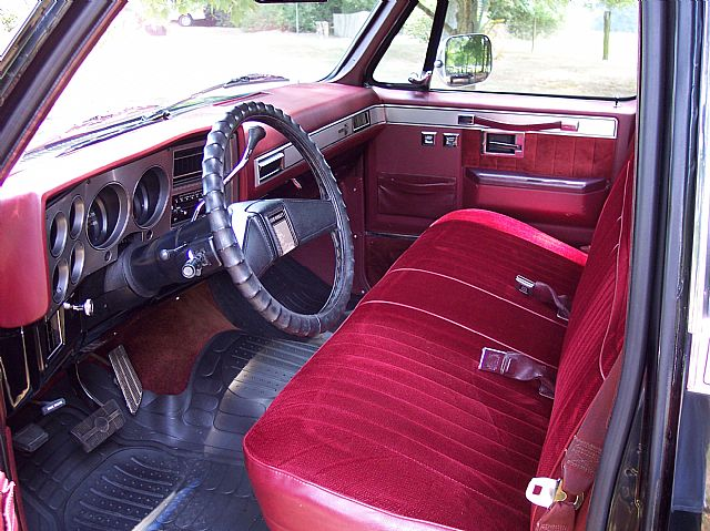 1986 Chevy C10 Interior Pictures To Pin On Pinterest