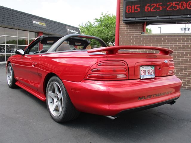 1994 ford mustang gt convertible for sale sterling illinois. Black Bedroom Furniture Sets. Home Design Ideas