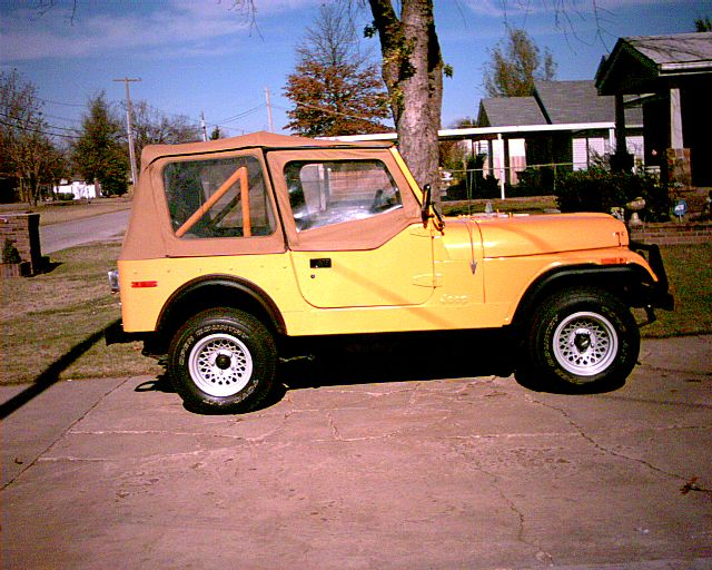 1976 jeep cj7 for sale oklahoma city area oklahoma. Black Bedroom Furniture Sets. Home Design Ideas