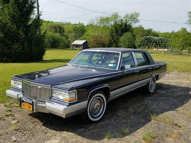 1992 Cadillac Brougham For Sale Syracuse New York