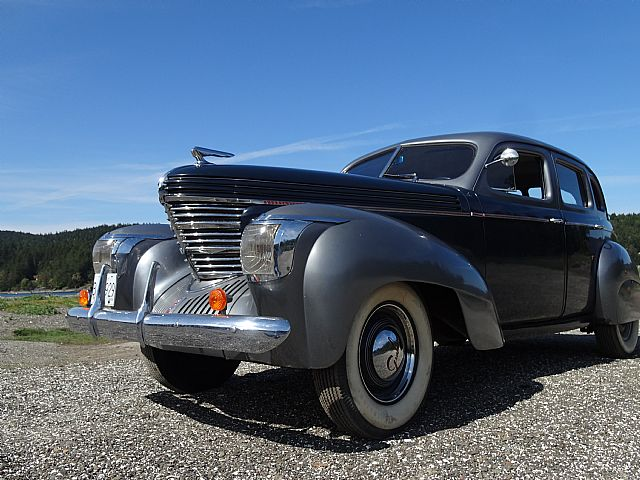 1938 Graham Sedan For Sale Pender Island British Columbia