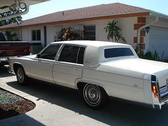 1989 Cadillac Brougham For Sale Boca Raton , Florida