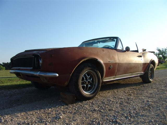 1967 Chevrolet Camaro Rs Ss For Sale Kansas City Missouri