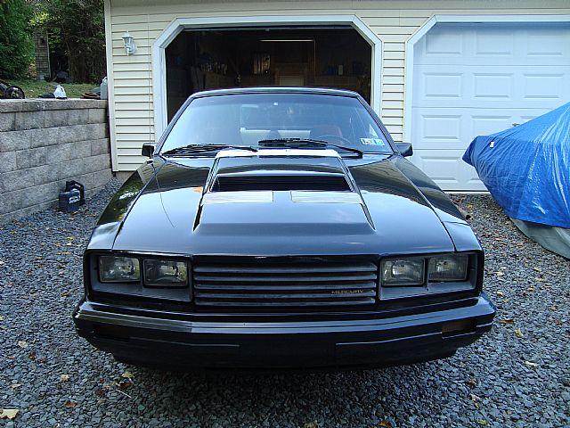 1982 Mercury Capri Picture Engine