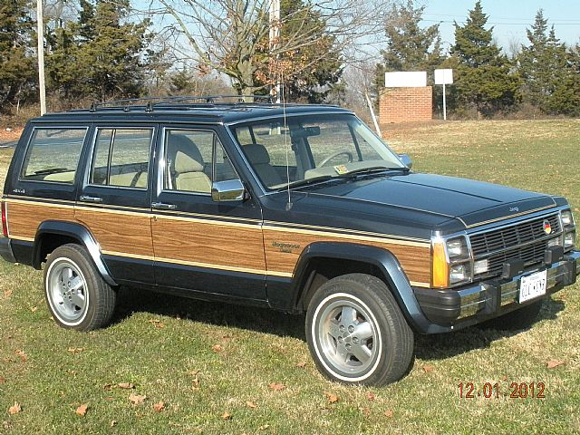 1989 jeep cherokee wagoneer for sale harrisonburg virginia. Black Bedroom Furniture Sets. Home Design Ideas