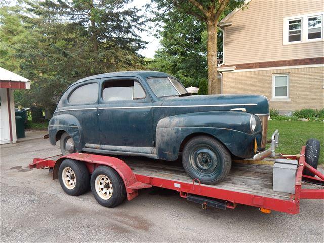 1941 ford deluxe for sale slinger wisconsin for 1941 ford super deluxe 4 door sedan