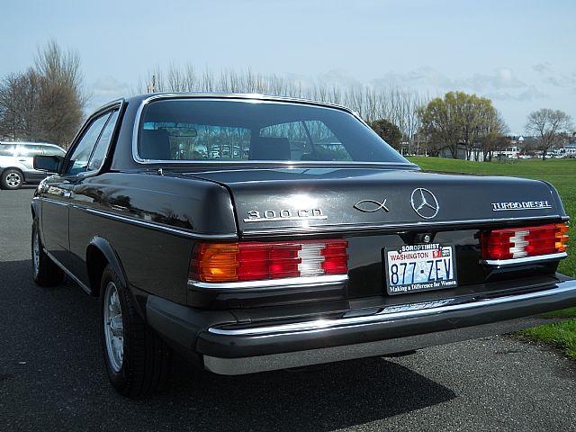 1984 Mercedes 300CD Turbo Diesel For Sale Oak Harbor, Washington