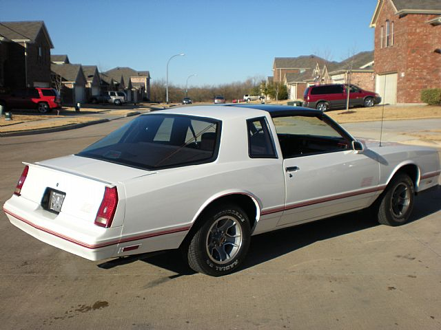 1987 chevrolet monte carlo ss aerocoupe for sale fort worth texas. Black Bedroom Furniture Sets. Home Design Ideas