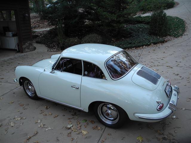 1962 Porsche 356 Karmann Notchback Coupe For Sale Grass