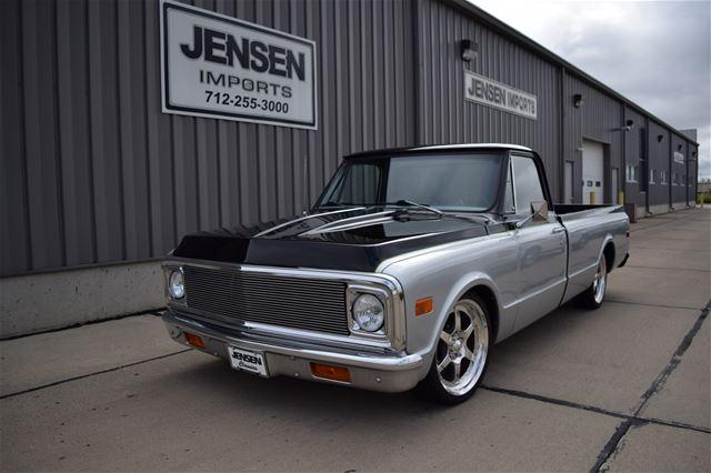 1972 Chevrolet C10 Custom For Sale Sioux city, Iowa