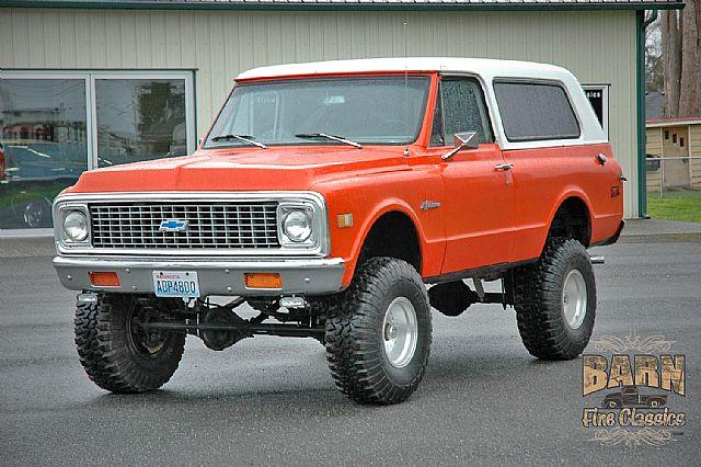 1971 Chevrolet K5 Blazer For Sale Mount Vernon Washington