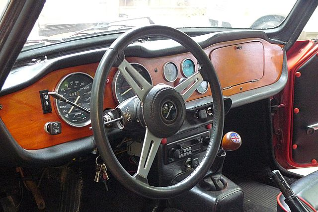 1974 Triumph Tr6 For Sale Traverse City Michigan