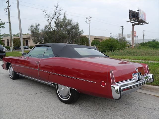 Eldo on 1973 Cadillac Fleetwood Engine