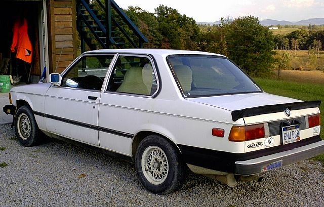 1983 Bmw 320i For Sale Philippi West Virginia