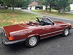 1983 Mercedes 380SL Picture 2
