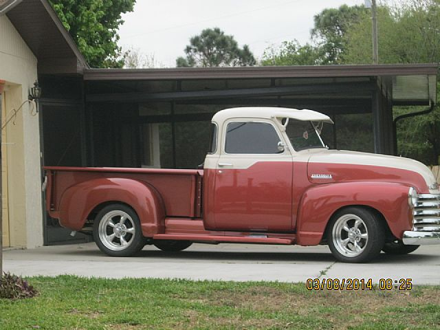 1949 chevrolet 3100 5 window pickup for sale lake placid florida