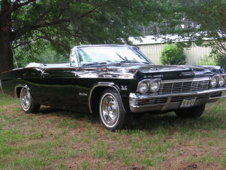 1965 chevrolet impala ss 396 for sale frankston texas. Black Bedroom Furniture Sets. Home Design Ideas