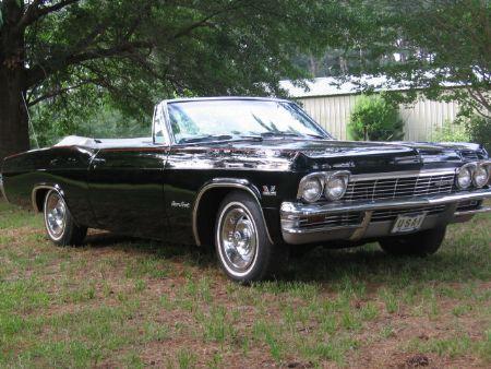1965 Chevrolet Impala SS 396 For Sale Frankston Texas
