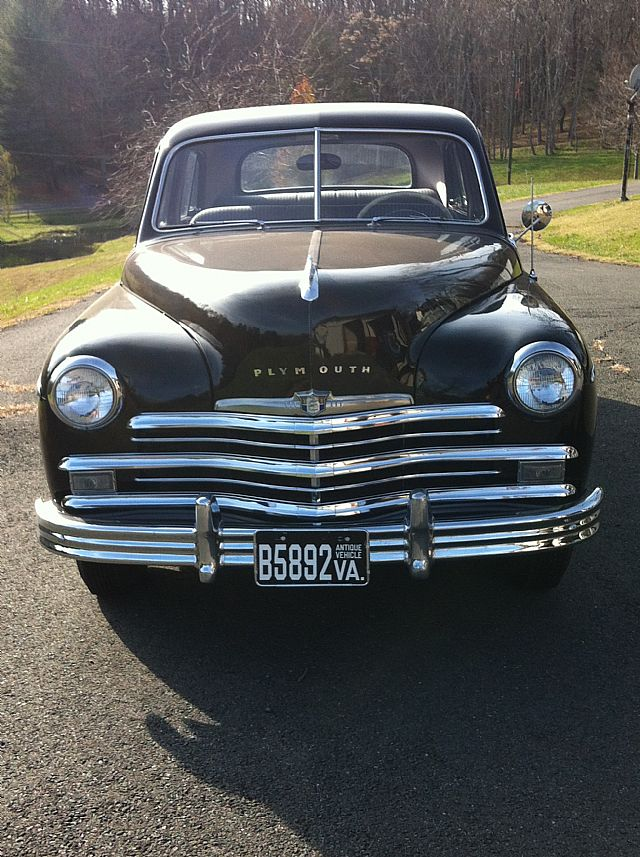 1949 Plymouth Special Deluxe For Sale Marshall Virginia