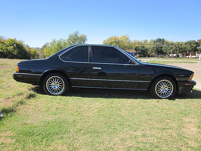1988 Bmw 635csi L6 For Sale Dallas Texas
