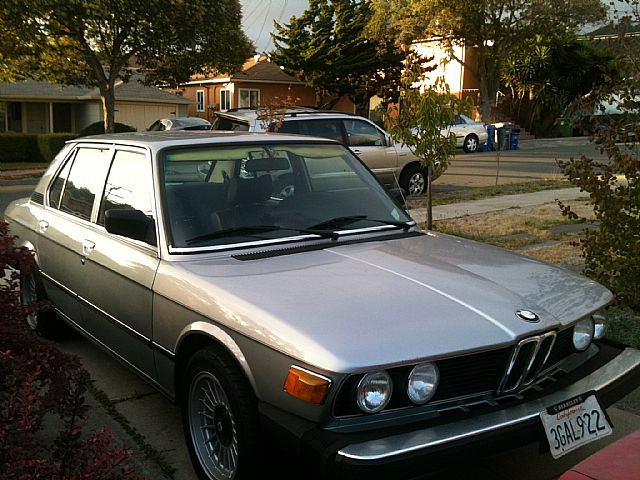 1980 Bmw 528i For Sale El Cerrito California