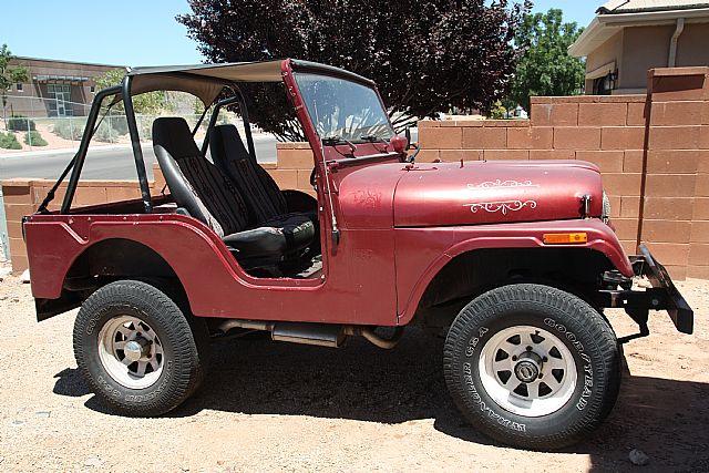 1971 jeep cj5 for sale st george utah. Black Bedroom Furniture Sets. Home Design Ideas