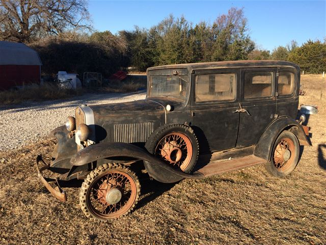 1931 chevrolet deluxe sedan for sale weatherford texas for 1931 chevrolet 4 door sedan