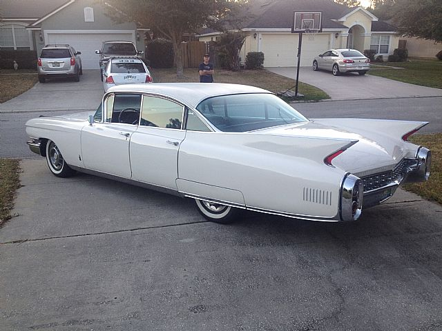 1960 Cadillac Fleetwood For Sale Jacksonville, Florida
