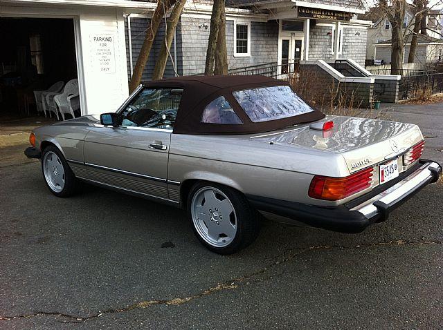 1987 Mercedes 560SL For Sale Gloucester Massachusetts