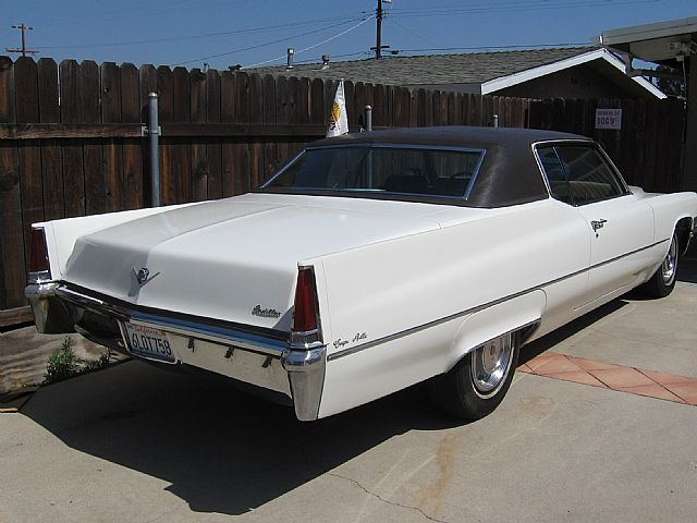 1969 Cadillac Coupe DeVille For Sale Northridge, California