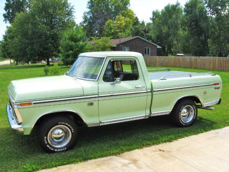 1973 Ford F100 Ranger For Sale Lorain, Ohio