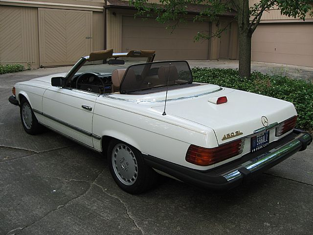 1980 mercedes 450sl picture 2 for Mercedes benz fort wayne indiana