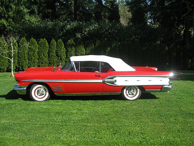 1958 Pontiac Parisienne Convertible For Sale Langley  British Columbia