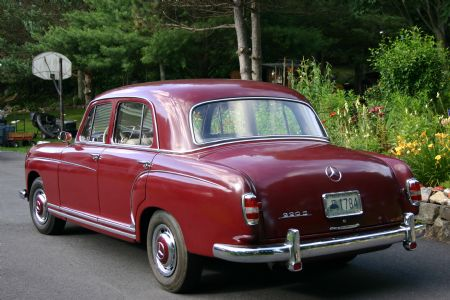 1958 mercedes 220s for sale n scituate rhode island for 1958 mercedes benz 220s for sale