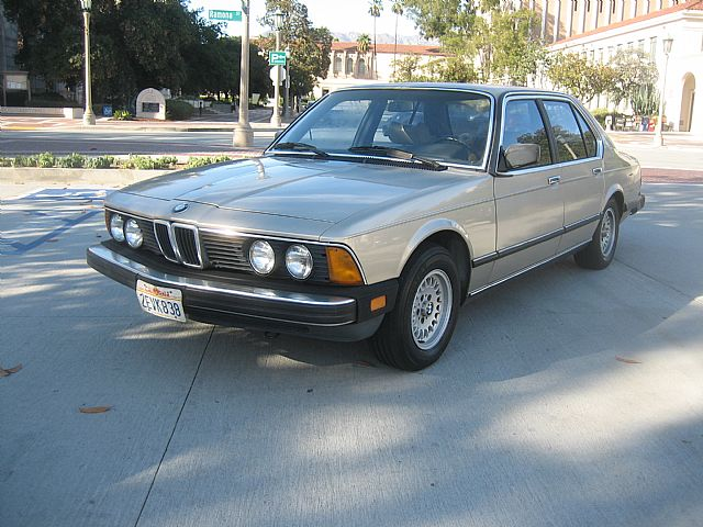 1984 Bmw 733i For Sale Pasadena California