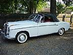 1959 Mercedes 220S Picture 2