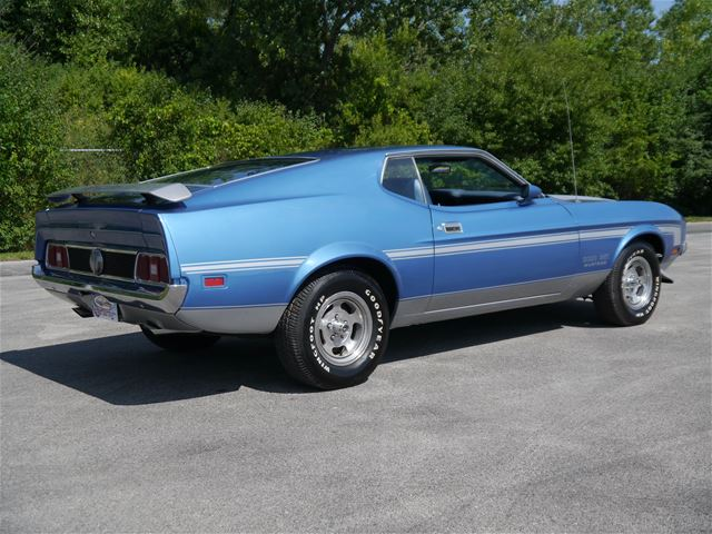 1973 ford mustang mach i for sale alsip illinois. Black Bedroom Furniture Sets. Home Design Ideas