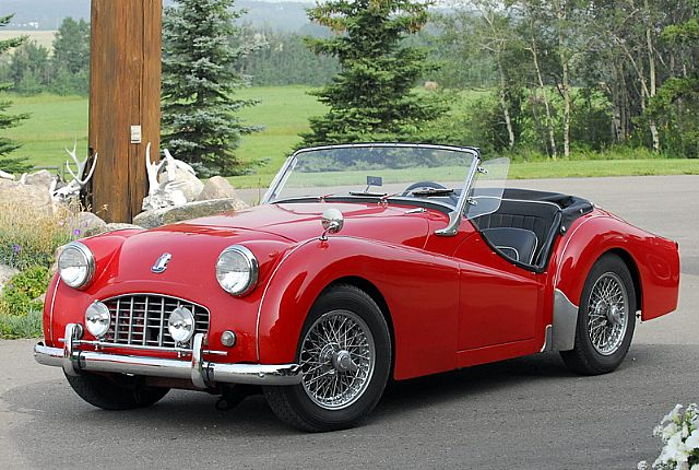 1957 Triumph Tr3 For Sale Red Deer Alberta