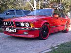 1984 BMW M635 Picture 2