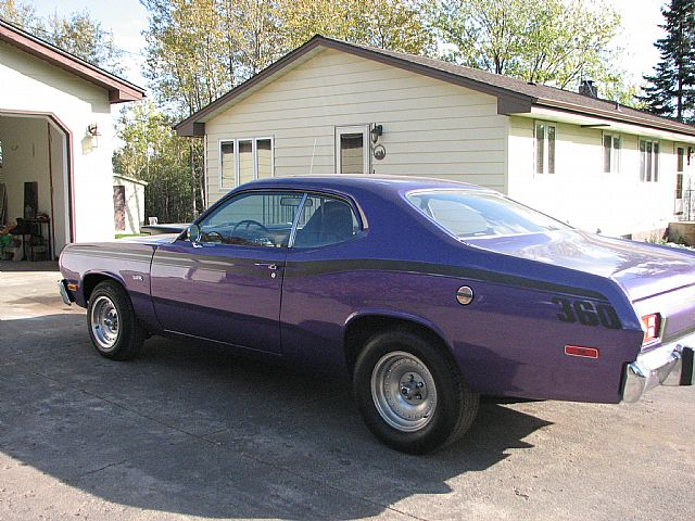 1973 plymouth duster for sale two harbors  minnesota