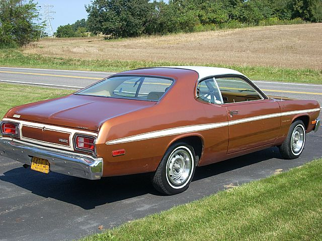 1974 Plymouth Gold Duster For Sale Palmyra New York