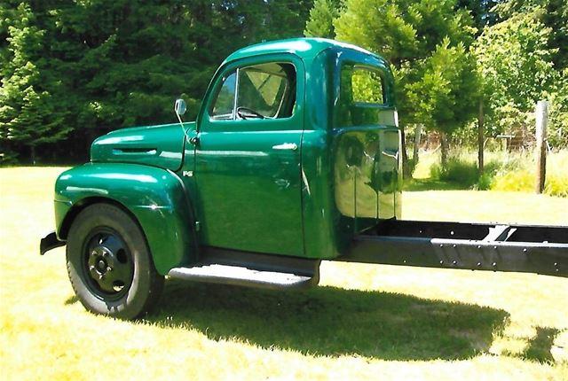 Used Ford Taurus >> 1950 Ford F6 Truck 1 1/2 Ton For Sale Shelton, Washington