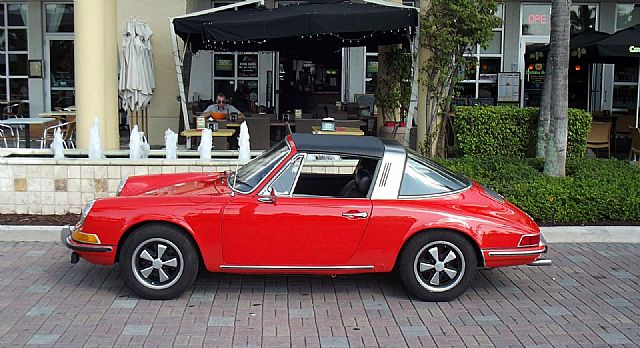 1969 Porsche 911 T Targa For Sale New Port Richey Florida