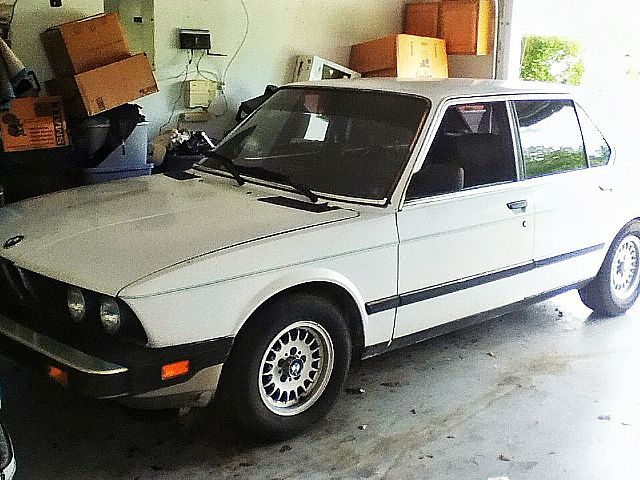 1987 Bmw 528e For Sale Sarasota Florida