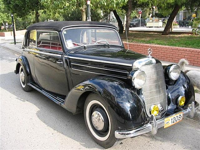 1951 mercedes 170s cabrio for sale germany for Mercedes benz 170 ds for sale