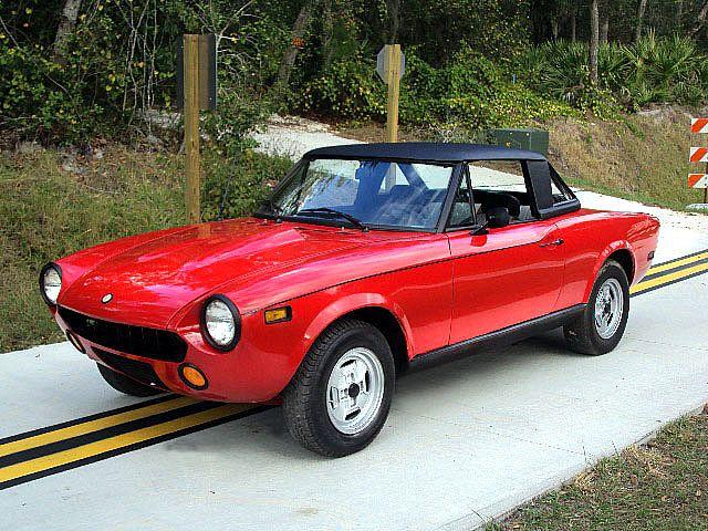 1975 Fiat Spider For Sale Deltona Florida