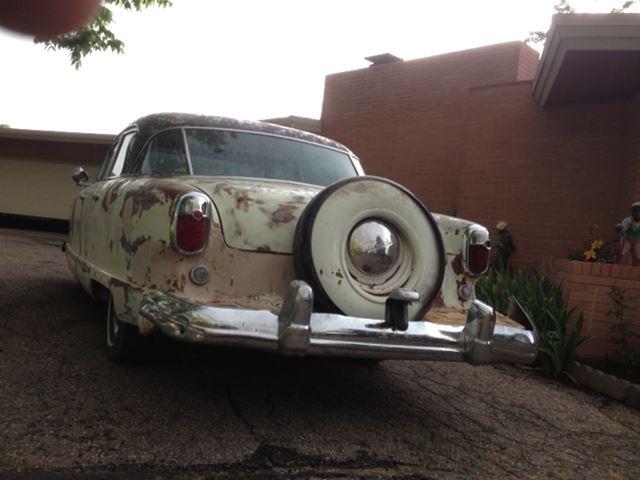 1954 Nash Ambassador For Sale Wheat Ridge Colorado